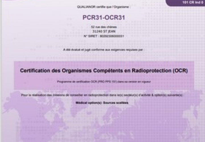 pcr31 radioprotection